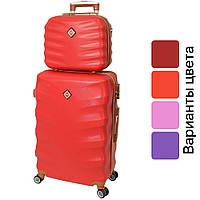 Комплект валіза + кейс Bonro Next середній дорожній набір, фото 1