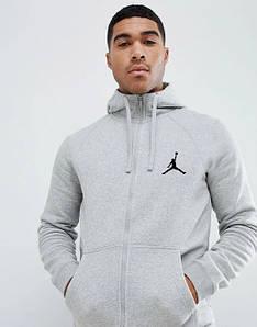 Сірий чоловічий літній спортивний костюм Jordan (Джордан)