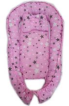 Детское гнездышко-позиционер для новородженных с ортопедической подушкой  Микс видов