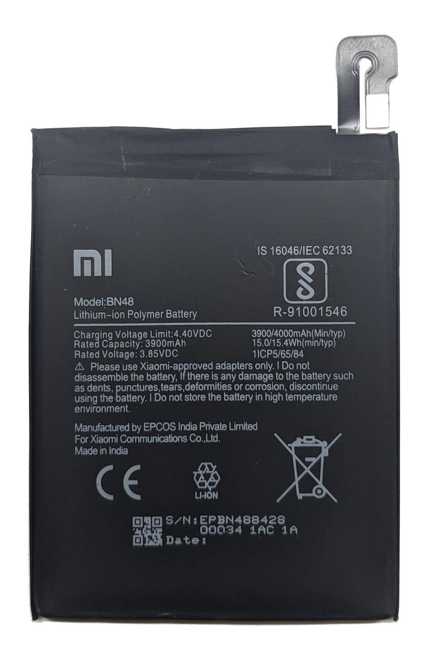 Аккумулятор Xiaomi BN48 Redmi Note 6 Pro Батарея