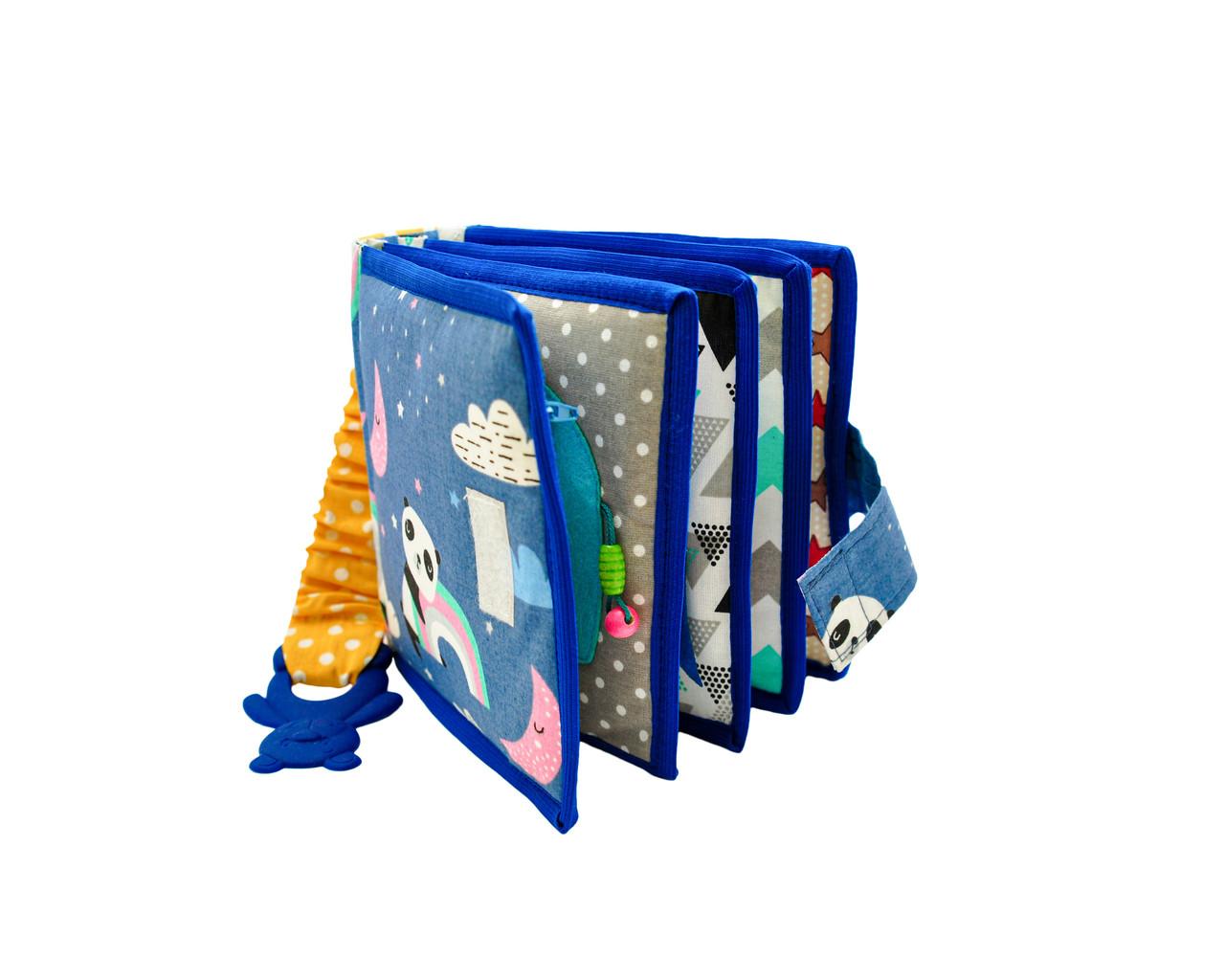 Развивающие книжки для малышей, мягкие книжки Handmade, 10 страниц