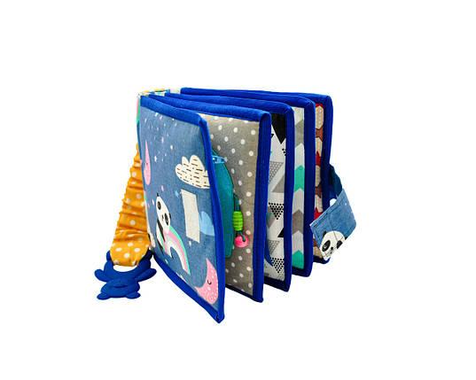 Развивающие книжки для малышей, мягкие книжки Handmade, 10 страниц, фото 2