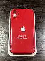 """Чехол для iPhone 11  (silicon case - Full Cover) """"Red - №33"""""""