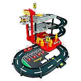 Игровой набор Bburago Гараж Ferrari (3 уровня, 2 машинки 1:43), фото 2