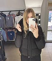 Демисезонная куртка женская короткая холофайбер (Норма)