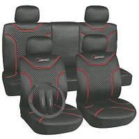 Чехлы на сиденья универсальные, авточехлы MILEX/Classic AG-72624 полный к-т/2пер+2задн+5подг/серые (AG-72624)