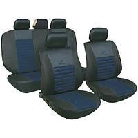 Чехлы на сиденья универсальные, авточехлы MILEX/Tango полн к-т/2пер+2задн+5подг+опл/синий (AG-Т24020)