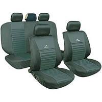 Чехлы на сиденья универсальные, авточехлы MILEX/Tango полн к-т/2пер+2задн+5подг+опл/тёмно-сер (AG-T24018)