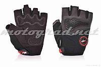 Перчатки PRO BIKER без пальцев, L, черные