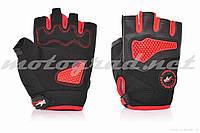 Перчатки PRO BIKER без пальцев, XL, красные