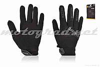 Перчатки THOR #GEL, сенсорный палец, M, черные