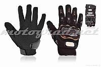 Перчатки мото PRO BIKER #MCS-01, M, черные