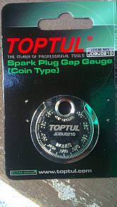 """Пристосування типу """"монета"""" для перевірки зазору між елетрод. свічки TOPTUL JDBU0210"""
