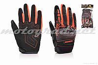Перчатки мото SCOYCO #MC65, L, оранжевые