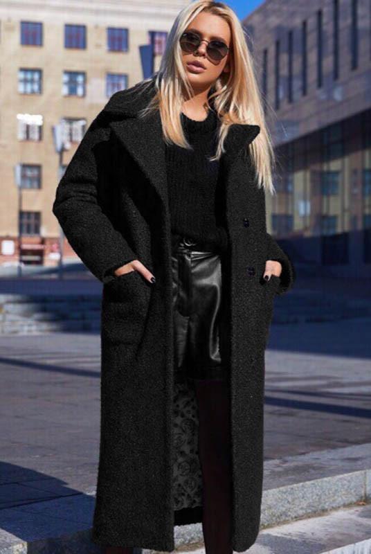 Тепле чорне пальто Берлін