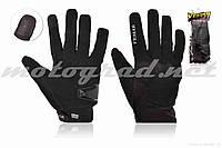 Перчатки мото VEMAR #VE-173, сенсорный палец, L, черные