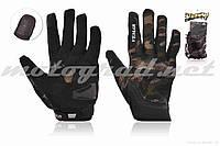 Рукавички мото VEMAR #VE-173, сенсорний палець, XL, хакі
