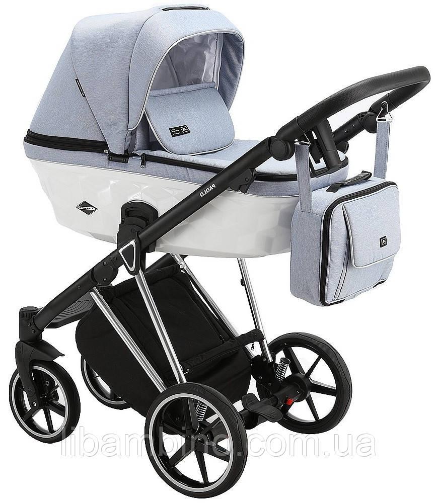 Дитяча універсальна коляска 2 в 1 Adamex Paolo TK-567