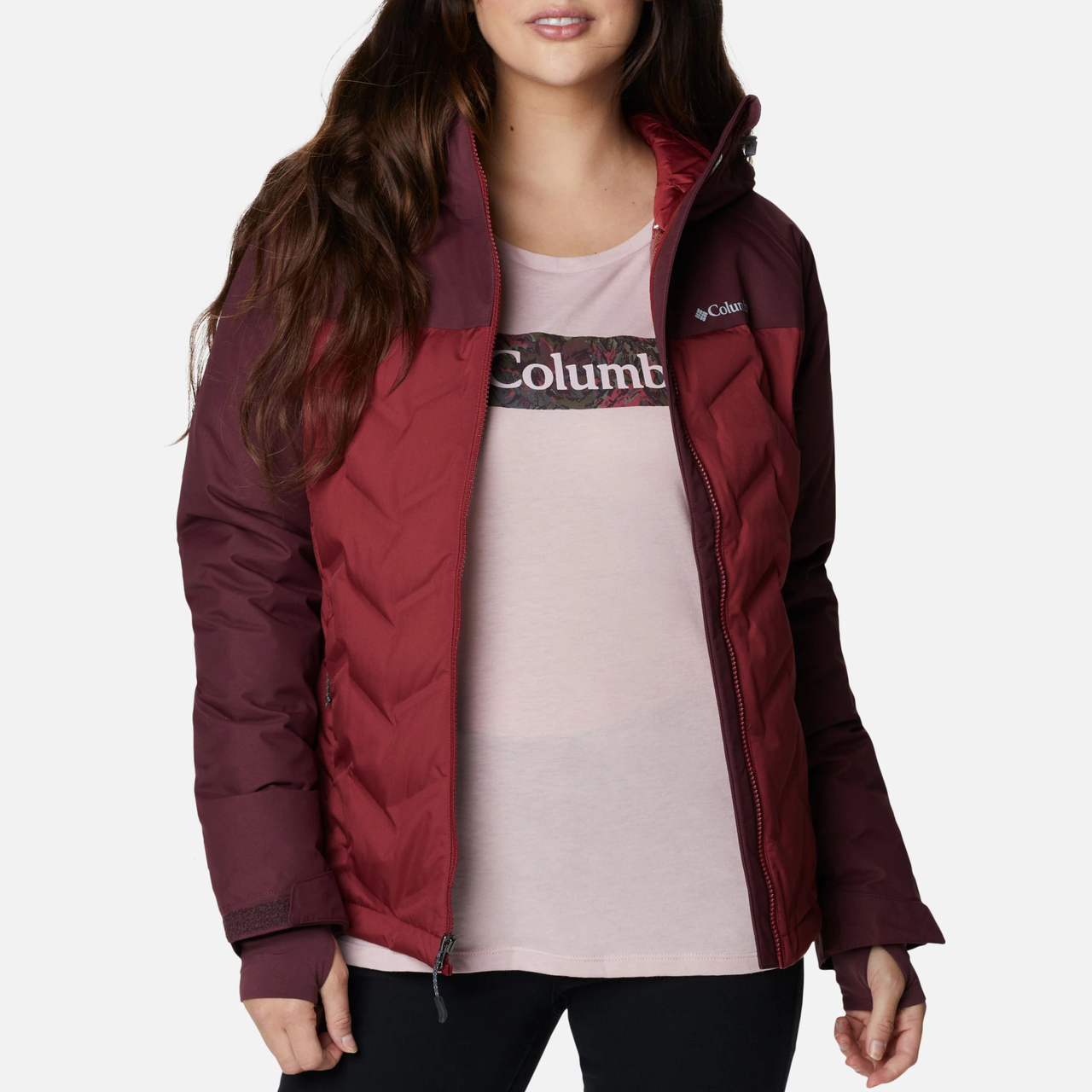 Женская пуховая куртка Columbia Grand Trek Down Jacket