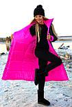 Куртка женская двусторонняя. Размеры: 42-46, 48-52. Цвет: малиновый/черный, черный/лимонный, черный/оливковый., фото 4