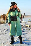 Куртка женская двусторонняя. Размеры: 42-46, 48-52. Цвет: малиновый/черный, черный/лимонный, черный/оливковый., фото 2
