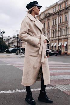 Бежеве довге пальто Берлін