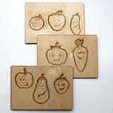 Набор пазлов для детей из дерева, фото 3