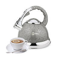 Чайник со свистком HIGHER+KITCHEN ZP-021 3.5 л Серый