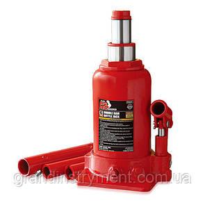 Домкрат бутылочный гидравлический низкопрофильный двухштоковый 6т 215-485 мм TORIN TF0602