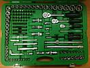 """Набор инструмента в машину комбинированный 1/4""""&3/8""""&1/2"""" 216ед.  TOPTUL GCAI216R, фото 2"""