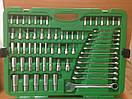 """Набор инструмента в машину комбинированный 1/4""""&3/8""""&1/2"""" 216ед.  TOPTUL GCAI216R, фото 3"""