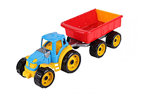 Трактор с прицепом 3442TXK (Разноцветный)