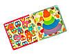 Книга из фетра, Мягкие книжки для детей Handmade, 10 страниц /Owl, фото 4