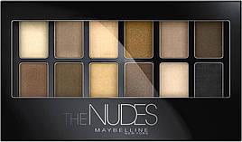 Палетка тіней для повік Maybelline Nudes (12 відтінків) 9.6 г
