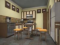 Кухонный стол с табуретками Элегант ТМ ТИС