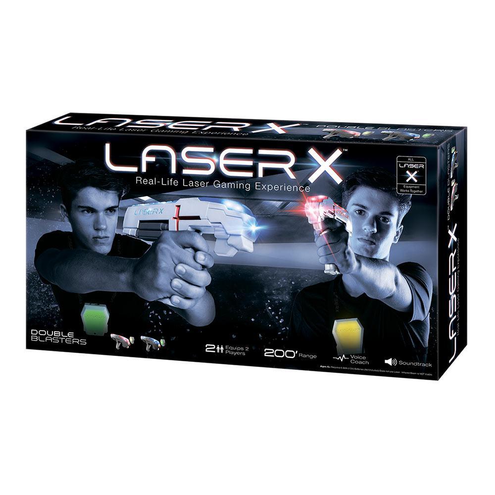 Іграшкова зброя Laser X ДЛЯ ДВОХ ГРАВЦІВ