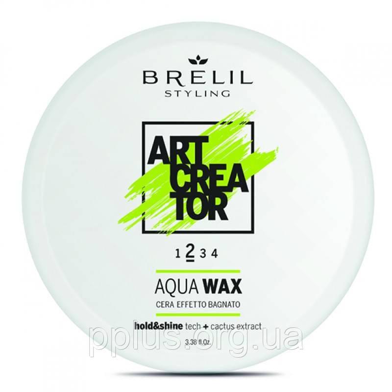 Воск для эффекта мокрых волос Brelil Art Creator Aqua Wax 2 100 мл