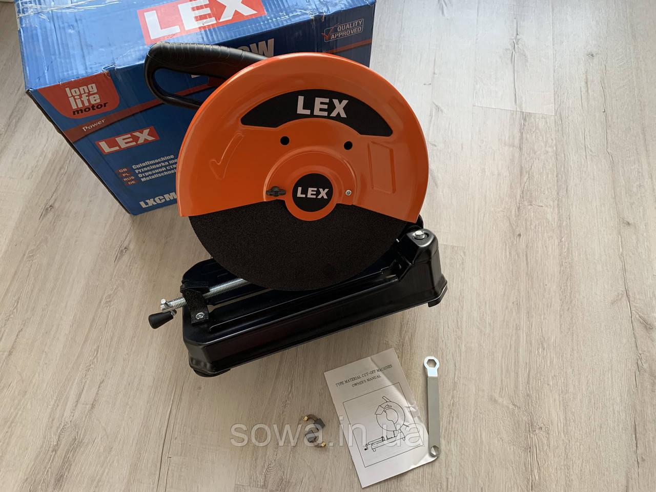 ✔️ Монтажна пила LEX металорез, труборіз - LXCM295 ( 2900 Вт )