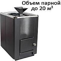 Печь банная, с испарителем, без выноса, глухая дверь, черн. PI-20 (20кВт)