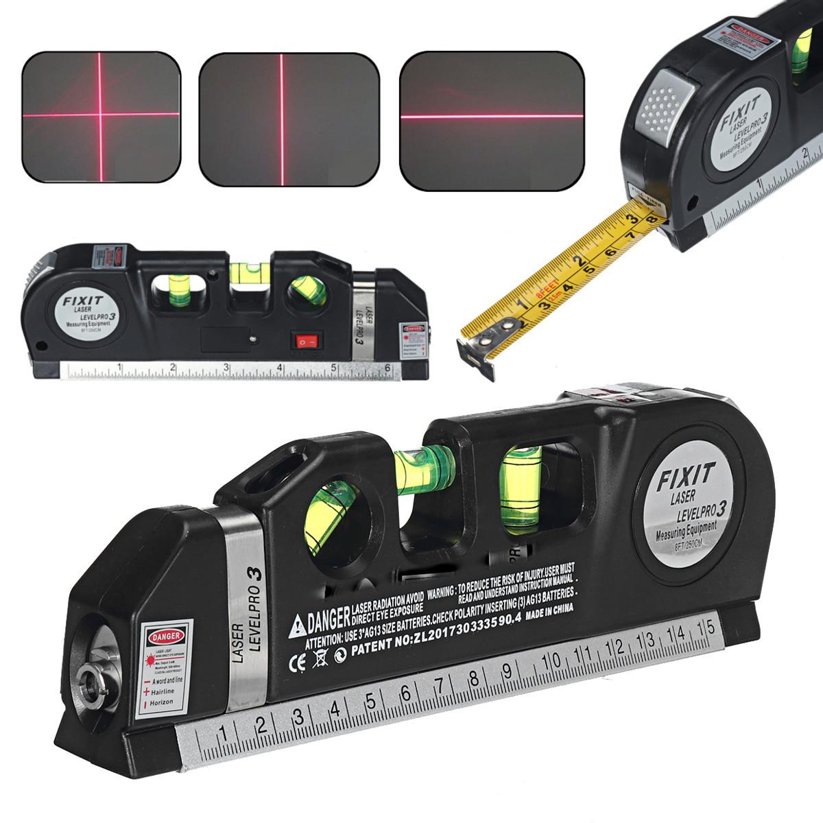 Лазерный уровень Fixit Laser Level Pro 3