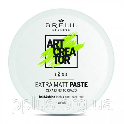 Паста для укладання з матуючим ефектом Brelil Art Creator Extra Matt Paste 2 50 мл, фото 2