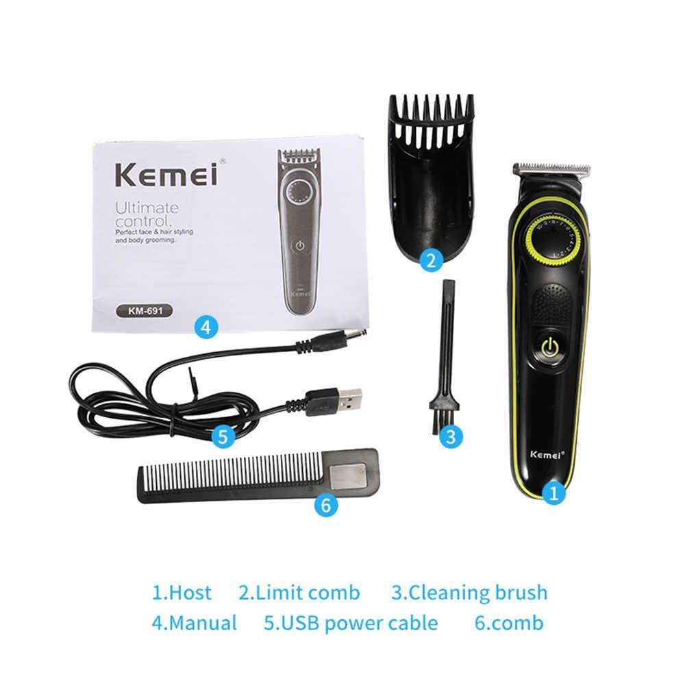 Машинка для стрижки волос Kemei KM-691