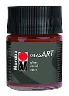 Фарба вітражна на основі розч.холодної фіксації Коричнева 50мл Glas Art, Marabu 130205440