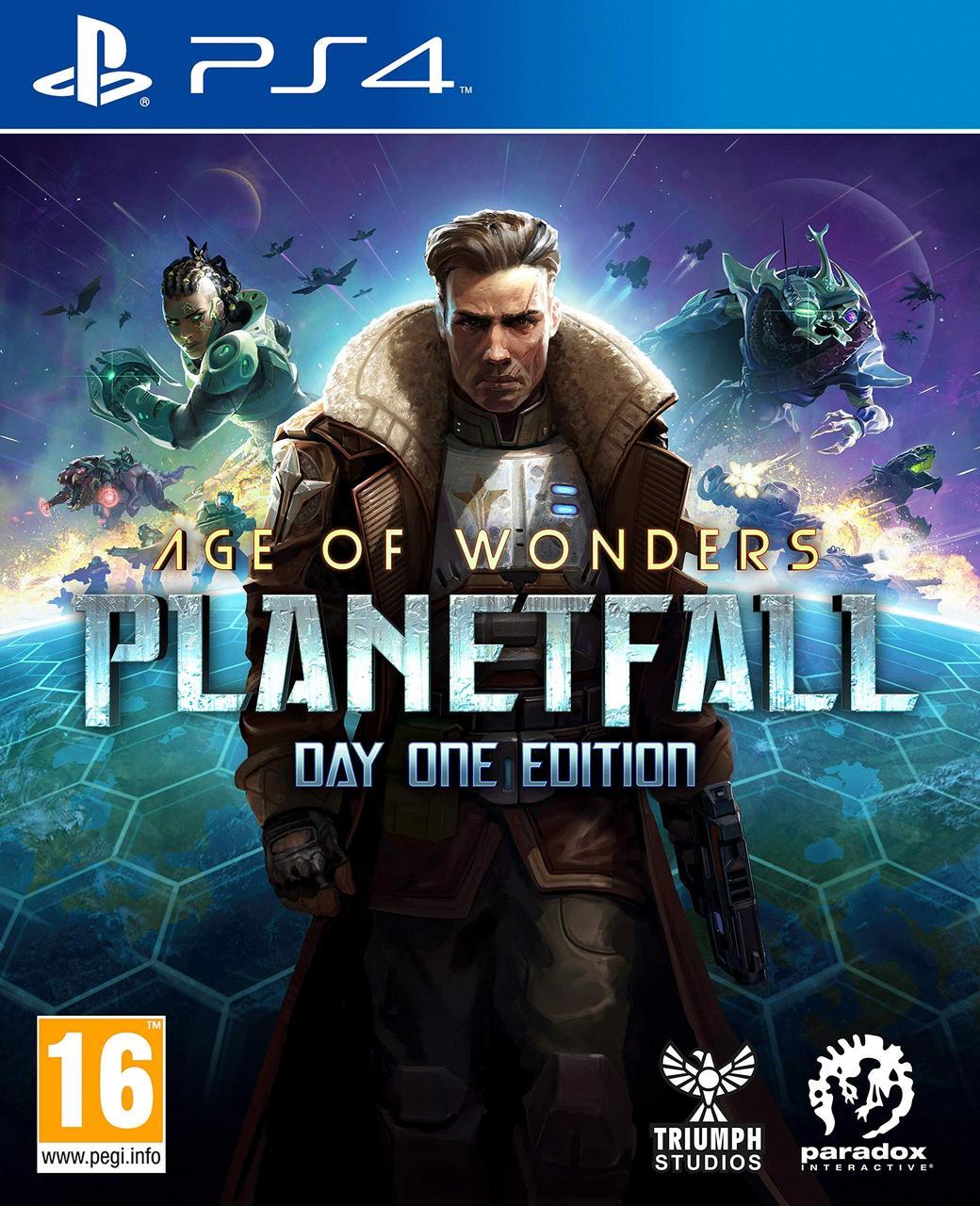 Age of Wonders: Planetfall - Day One Edition (російські субтитри) PS4