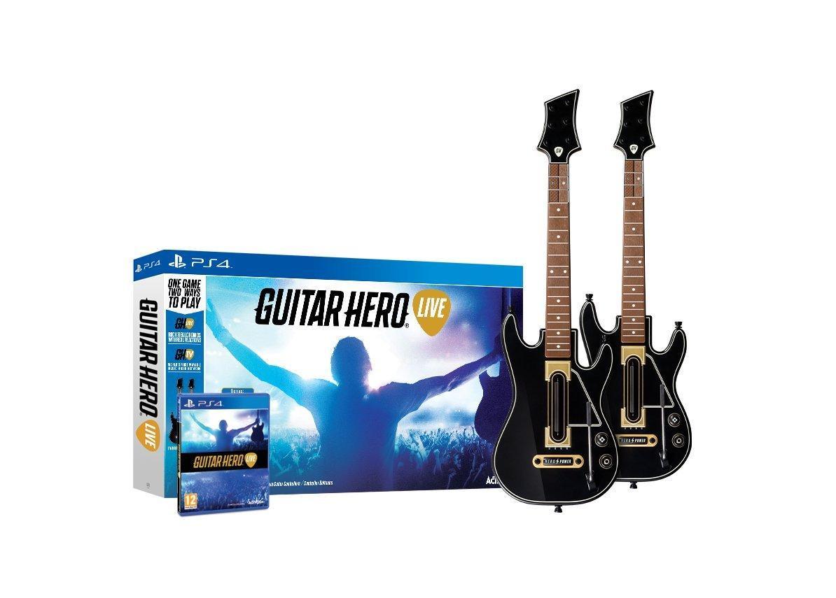 Guitar Hero Live з двома гітарами (PS4)