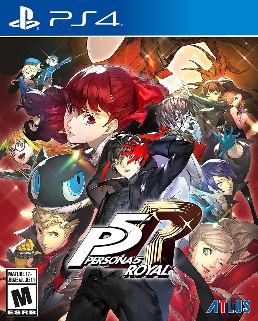 Persona 5 Royal (англійська версія) PS4