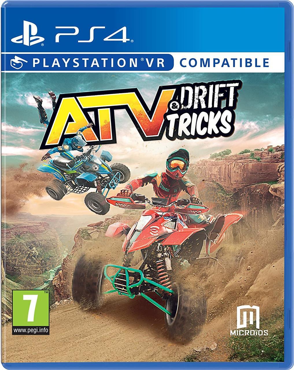 ATV Drift and Tricks VR (англійська версія) PS4