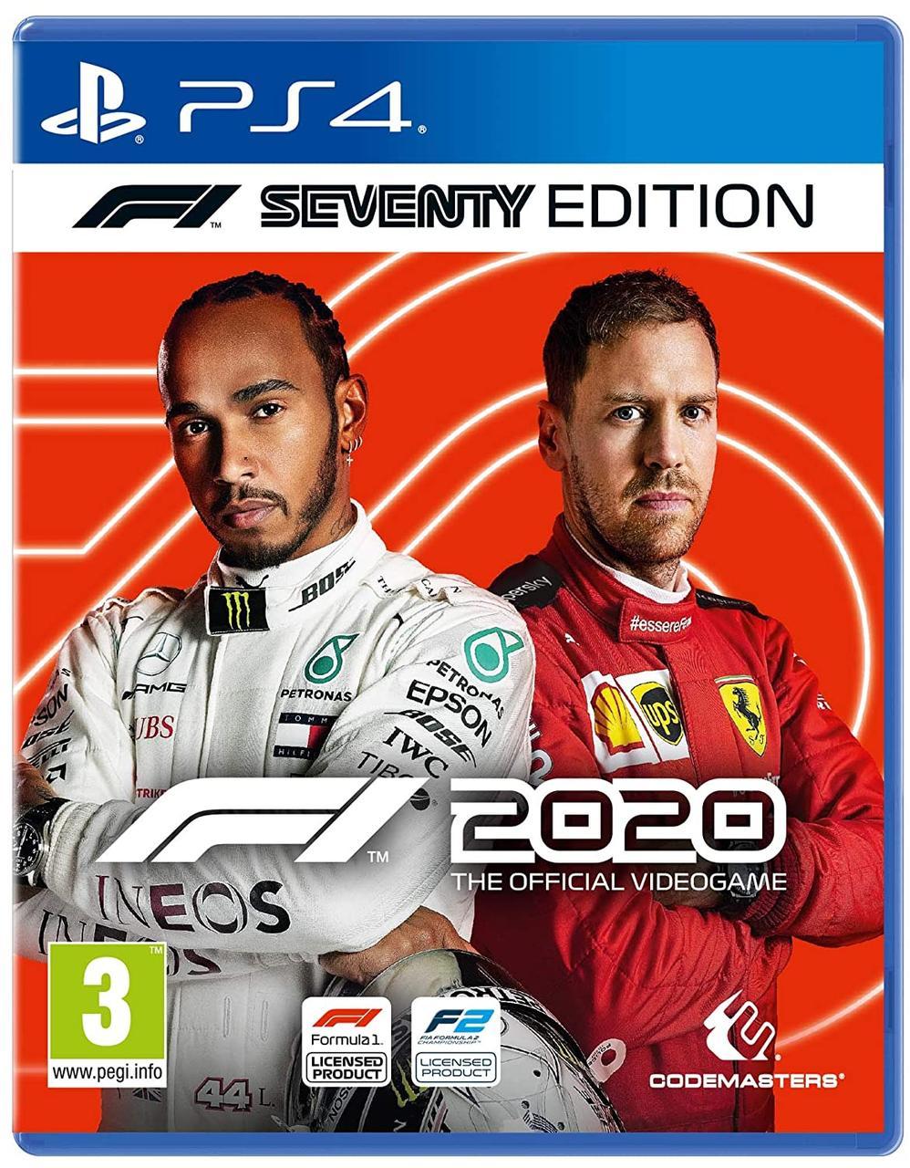 F1 2020 Seventy Edition (англійська версія) PS4