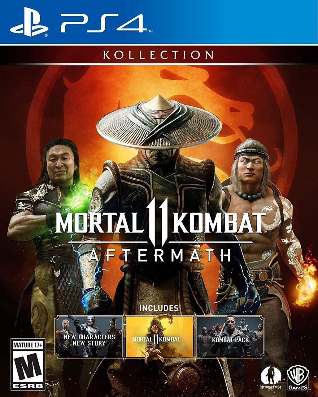 Mortal Kombat 11 Aftermath Kollection (англійська версія) PS4