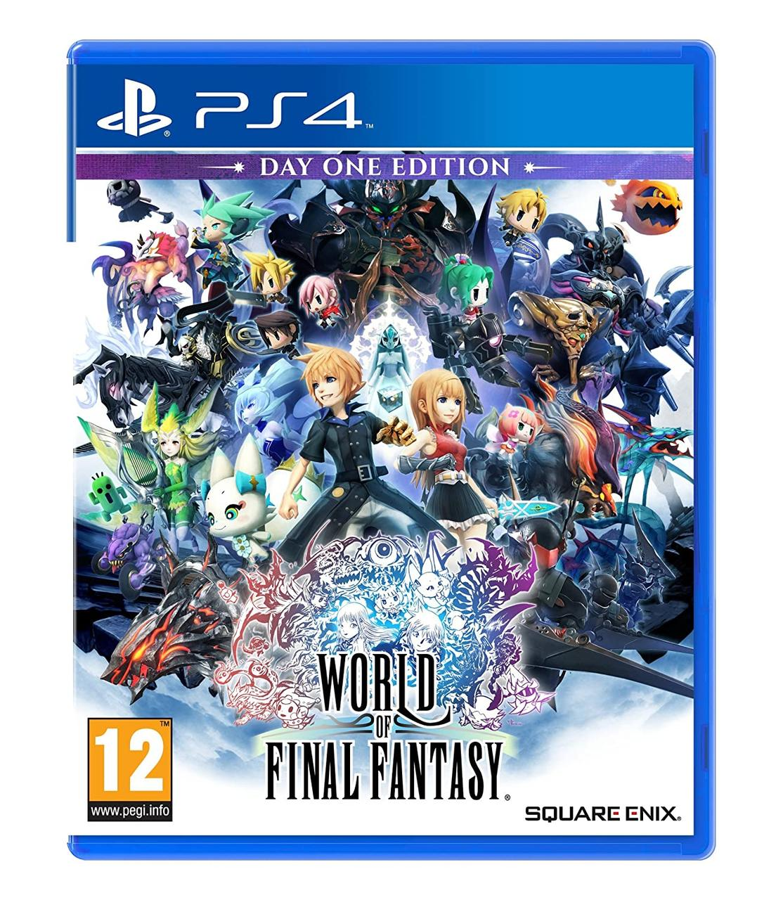 World of Final Fantasy (англійська версія) PS4